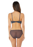 Embrace Lace Brief Nine Iron / Ensign Blue