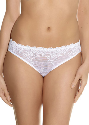 Embrace Lace  Delicious White