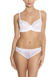 Embrace Lace Classic Underwire Bra Delicious White