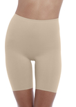 Beyond Naked Cotton Shapewear Short Sand