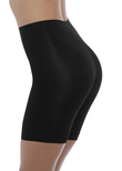 Beyond Naked Cotton Shapewear Short Black