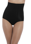 Beyond Naked Cotton Shapewear Brief Noir