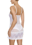 Embrace Lace Chemise Delicious White