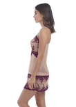 Embrace Lace Chemise Sphinx Pickled Beet