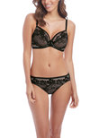 Lace To Love Brief Black