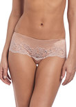 Lace Affair Tanga Rose Dust / Angel Wing