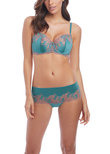 Lace Affair Classic Underwire Bra Pagoda Blue Twilight Mauve