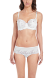 Lace Affair Classic Underwire Bra White