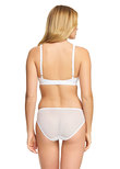 Embrace Lace Soft Cup Bra Delicious White