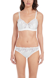 Lace Affair Brassière White