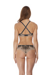 Embrace Lace Plunge Bra Ebony / Shifting Sand