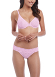 Halo Lace Brief Sweet Pink