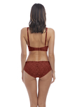 Halo Lace Brief Red Pear