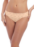 Halo Lace Brief Nude