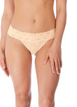 Halo Lace Thong Nude