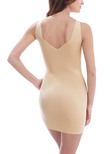 Beyond Naked Shaping Dress Macaroon
