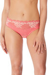 Lace Perfection Brief Strawberry Ice