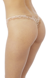 Lace Perfection Tanga Cafe Creme