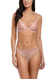Lace Perfection Tanga Rose Mist