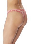 Lace Perfection Tanga Strawberry Ice