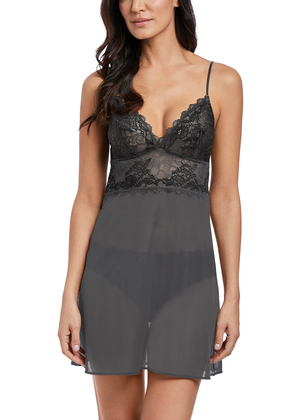 Lace Perfection  Charcoal