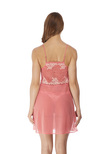 Lace Perfection Chemise Strawberry Ice